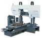 BAND SAW machine of a moveable working table
